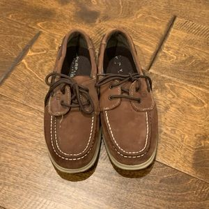 Boys Sperrys Top sider boat shoes
